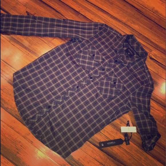 O'Neill Other - NWT O'Neill long sleeve button down shirt